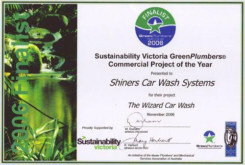 Green Plumbers Award